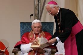 Послание Бенедикта XVI для Папской Библейской комиссии