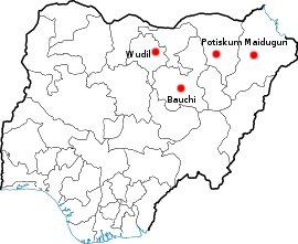 Image Result For Boko Haram Map