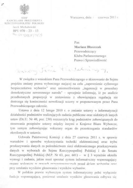 Pismo 3